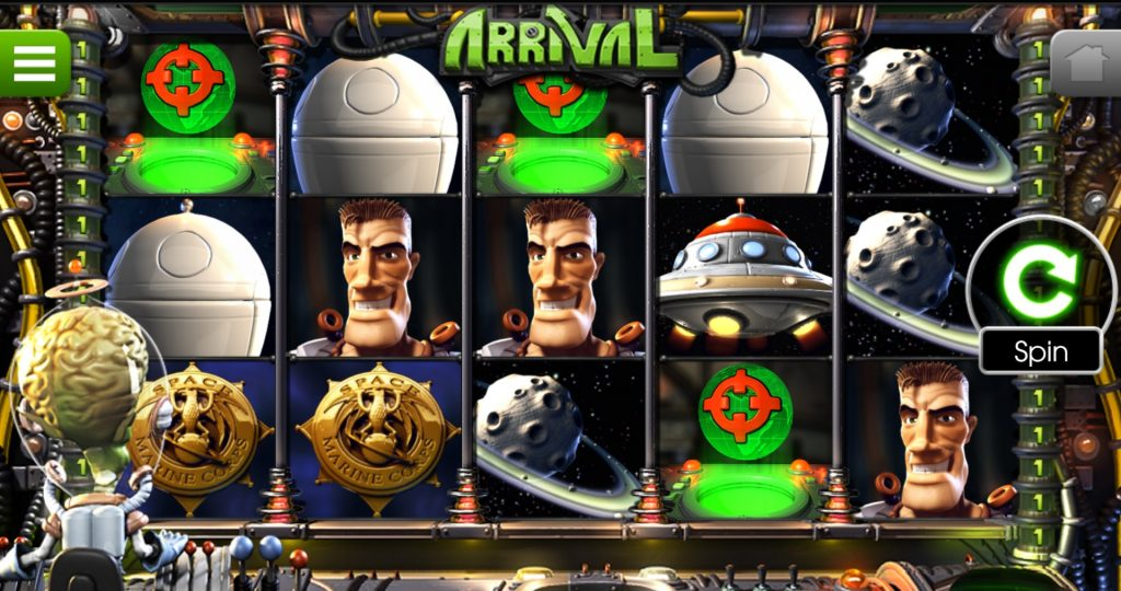 Slot machine quiz: Arrival